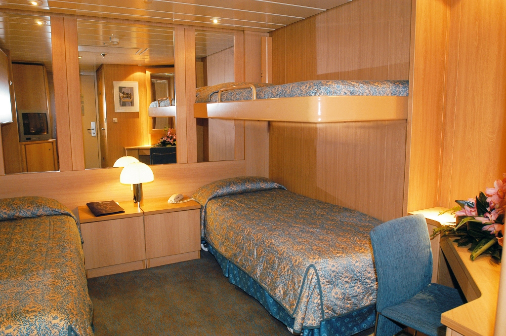 Interior Stateroom Bed Size