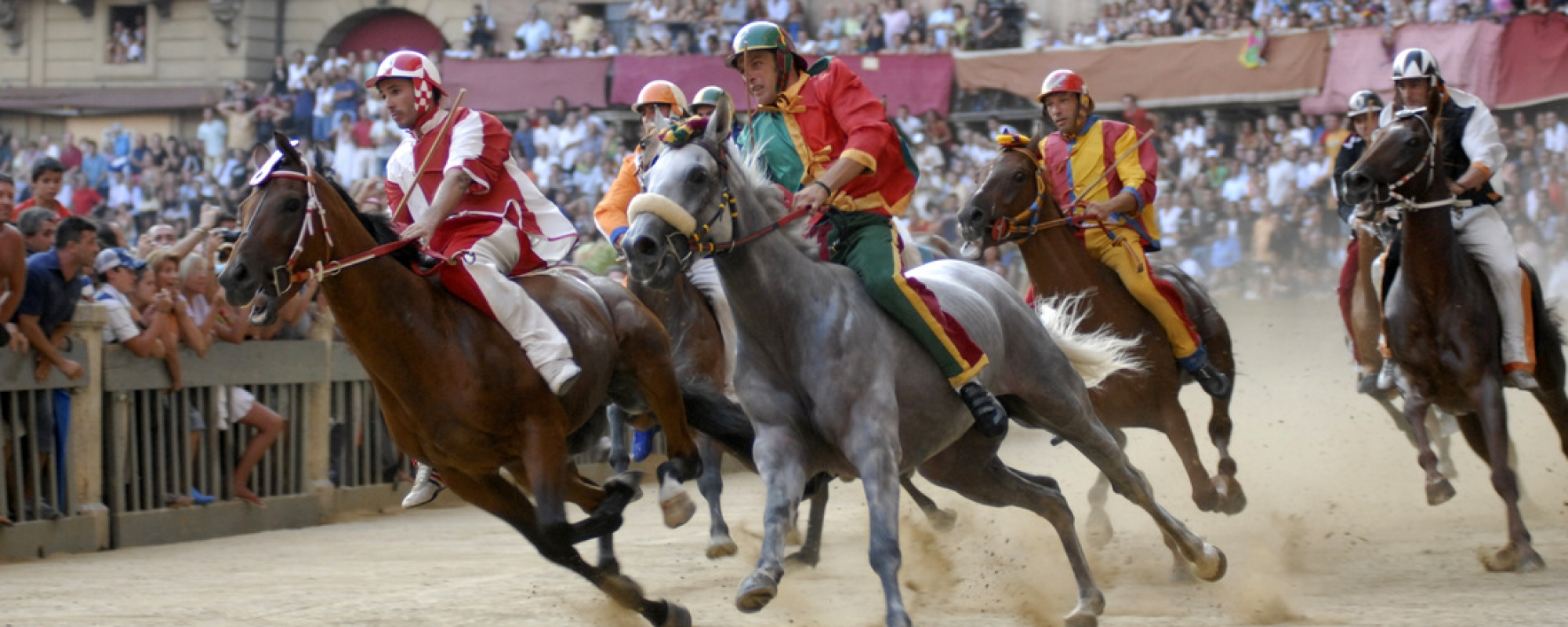 il Palio in Siena, Italy