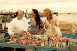 Shopping with the Chef Fish Market