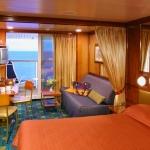 (MA) Mid-Ship Mini-Suite with Balcony
