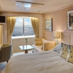 (C1) Deluxe Stateroom with Large Picture Window