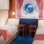 (OF) Mid-Ship Oceanview Porthole Window