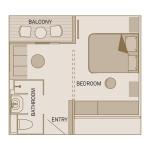 (CA) Balcony Suite